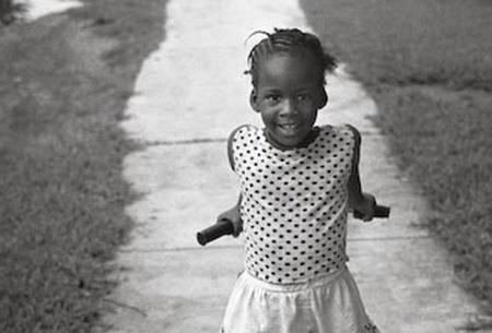 Sidewalk Girl - Goulds, Florida, 1991