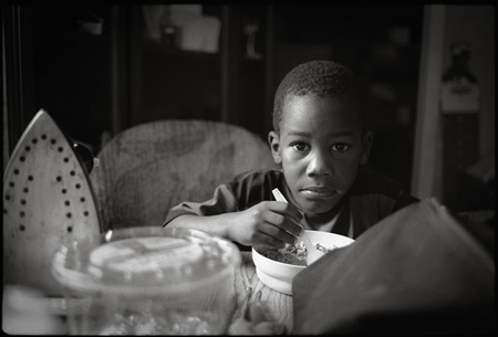 Tedric at Breakfast - Goulds, Florida, 1995