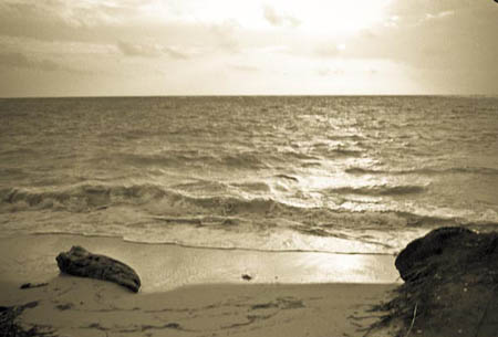 View from the Cabin - Corn Island, Nicaragua, 2008