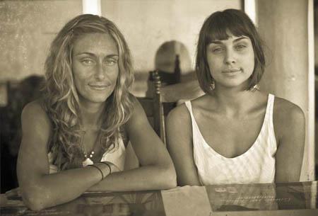 Sylvia and Cristine - Corn Island, Nicaragua, 2008